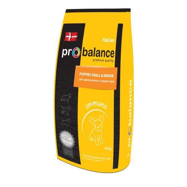 Корм Probalance (Пробаланс) в желтой упаковке
