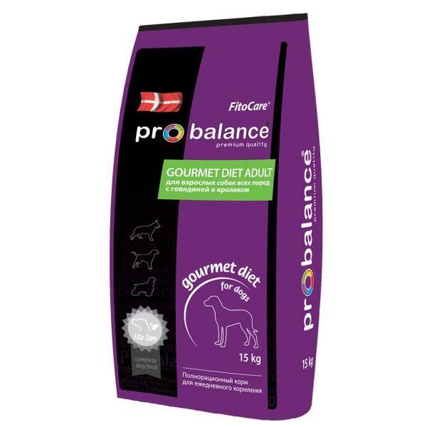 Корм Probalance (Пробаланс) в фиолетовой упаковке