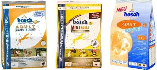 Корм для собак Бош (Bosch)