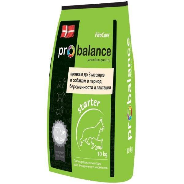 Корм Probalance (Пробаланс) для собак в зеленой упаковке