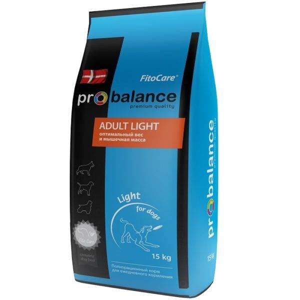 Корм Probalance (Пробаланс) для собак синяя упаковка